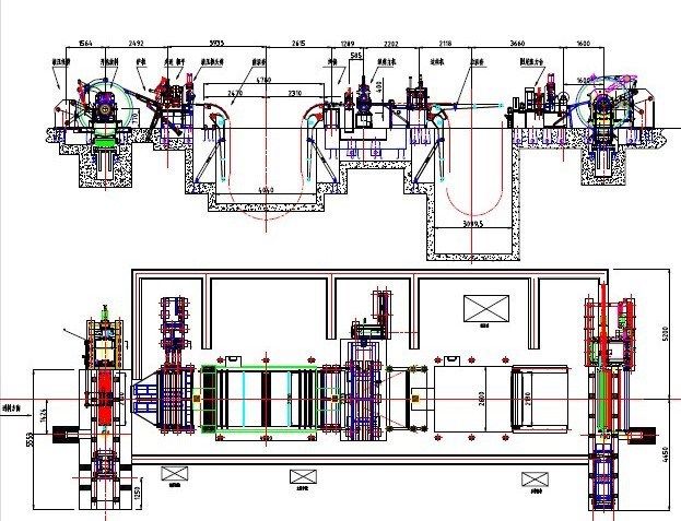 Cold Roll Steel Slitting Line1